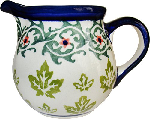 - Polish Pottery Creamer Pitcher - Eva's Collection