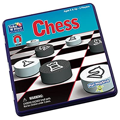 PlayMonster Take 'N' Play Anywhere - Chess: Toys & Games