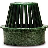 NDS 80G Atrium Grate, 6-Inch, Green