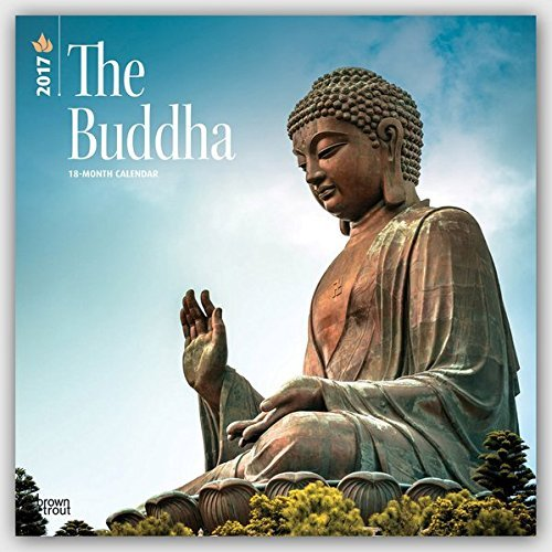 2017 Monthly Wall Calendar - Buddha