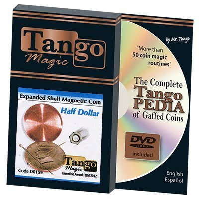 Expanded Shell Half Dollar Magnetic (D0159) by Tango