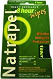 Natrapel 8-Hour Mosquito, Tick and Insect Repellent 12 Individually-Wrapped Wipes