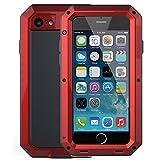 iPhone 6 Plus/6S Plus Case,Mangix Gorilla Glass Aluminum Alloy Protective Metal Extreme Shockproof