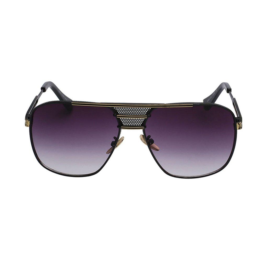 anteojos de sol vidrio 19214 de metal de para hombre, estilo retro ...
