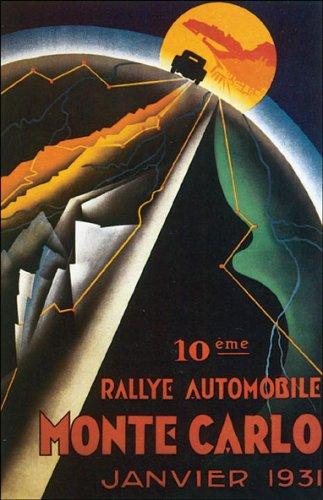 WONDERFULITEMS MONTE CARLO 1931 AUTOMOBILE RALLY CAR RACE...