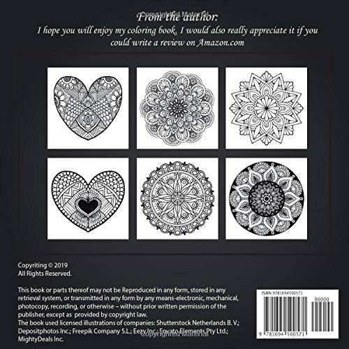 Mandala for young adult 200 Design Originals – 200 Designs from All Ages and Cultures – Hand Drawn Designs – Good for all ages – Art Therapy – Positive Coloring Books for Relaxation