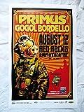 #7: 2010 Primus Gogol Bordello Red Rocks Concert Poster