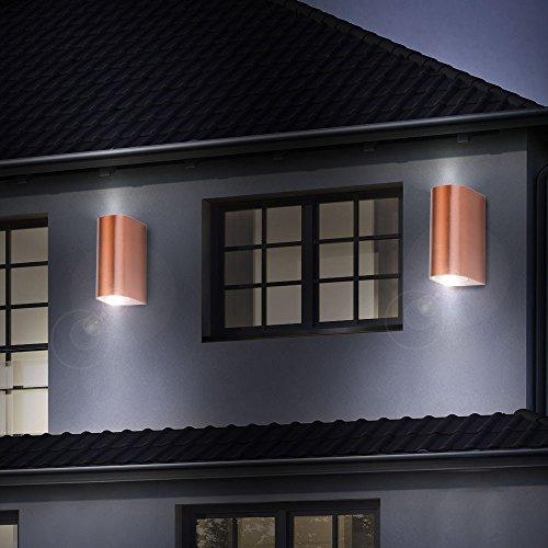 Patio Alu Télécommande Murales Spots De Lampes Extérieures 4x K13JTlFc