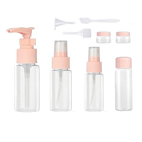 9 Stück Reise Flaschen Set LMYTech Kosmetikflaschen Set/Travel Bottles Set/Toilettenartikel Reise Flaschen/für Flüssigkeitsbe
