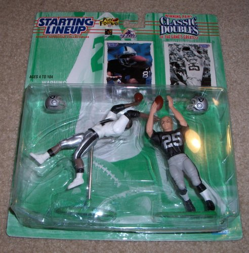 1997 Tim Brown and Fred Biletnikoff NFL Classic Doubles Starting Lineup (Tim Brown Nfl)