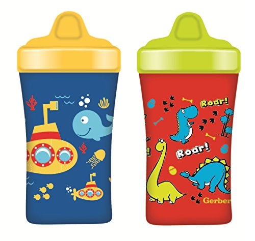 Gerber Graduates Advance Developmental Hard Spout Cups 2-Pack - Monster/Truck by Gerber Graduates
