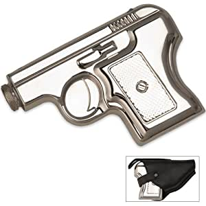 Maxam Stainless Steel Pistol Flask Holder