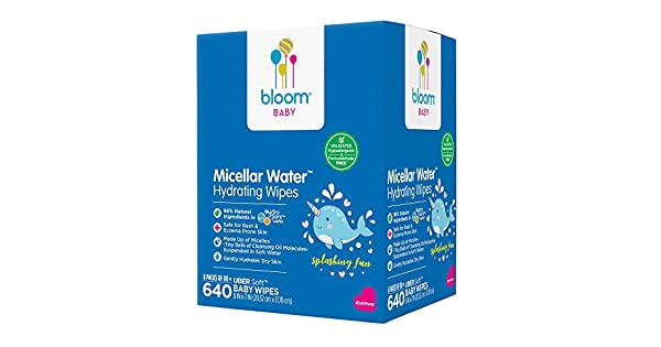Baby Wipes by bloom BABYMicellar Water Hydrating WipesAll Skin T