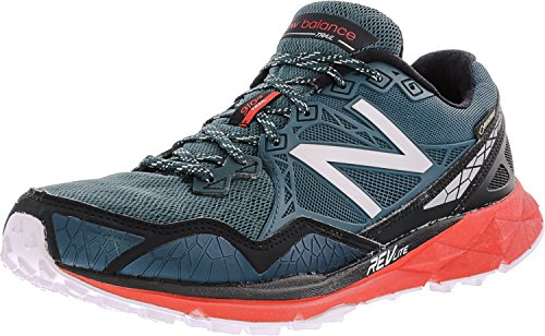 New Balance Men's MT910V3 M Trail Running Shoes, Green/Red, 7.5 D US