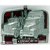 KENWORTH TRUCKS FASHION BELT BUCKLE FOR BELTS. WE SHIP FROM CORNWALL, ONTARIO, CANADA! OUR BELT BUCKLES MAKE EXCELLENT GIFTS!