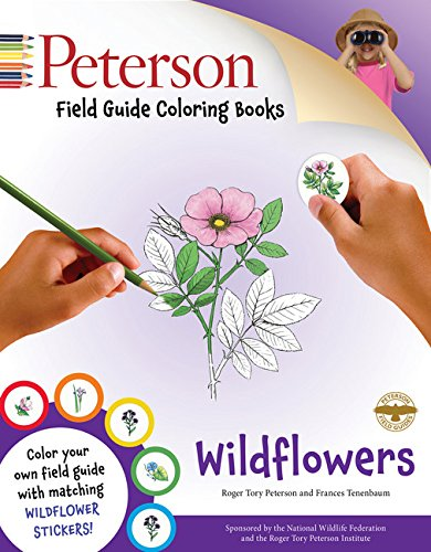 Peterson Field Guide Coloring Books: Wildflowers (Peterson Field Guide Color-In -