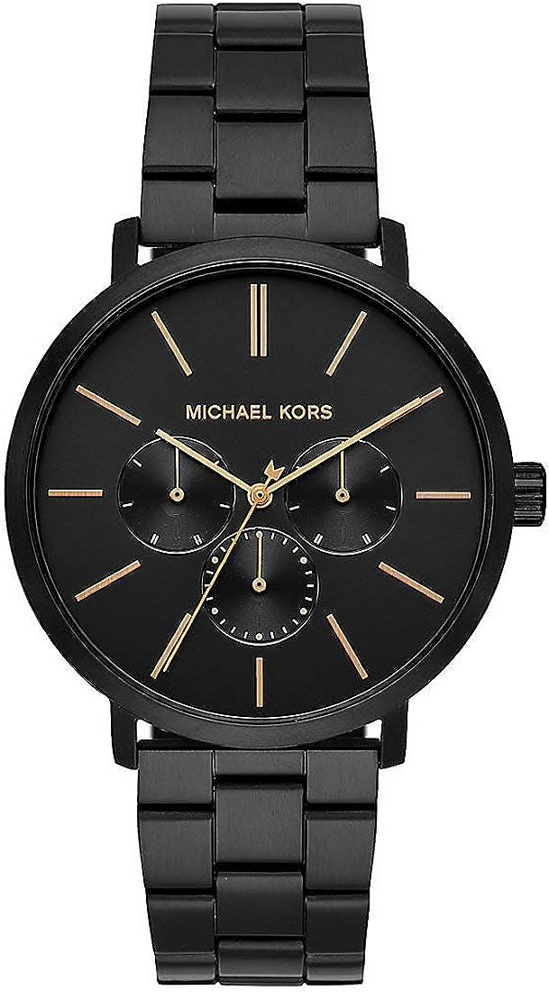 Michael Kors Reloj Analógico de Cuarzo con Correa de Acero Inoxidable