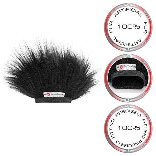 Gutmann Fur Microphone Windshield Windscreen for Tascam DR-40 V2 by Gutmann (Image #2)