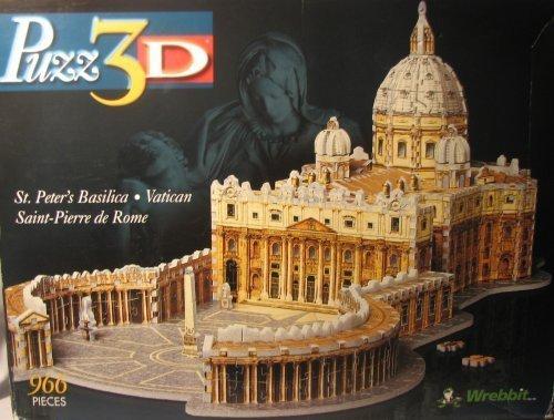 Puzz3D St. Peter's Basilica - Vatican Saint-Pierre de Rome by Wrebbit