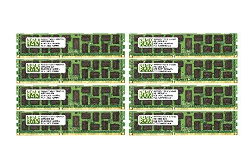 128GB (16x8GB) DDR3-1600MHz PC3-12800 ECC RDIMM 2R...
