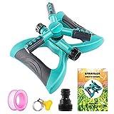 Best Lawn Sprinklers - Milemont Garden Sprinkler Lawn Irrigation System 360 Degree Review