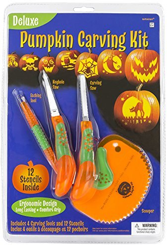 Amscan Deluxe Pumpkin Carving Kit]()