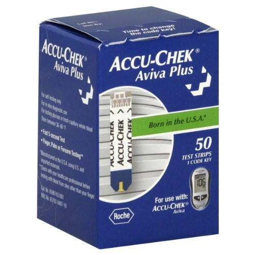 Accu-Chek Aviva Plus Test Strips (Pack of 50) (Accu Chek Aviva Plus Test Strips 50ct)