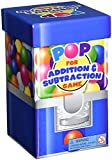 Learning Resources Pop For Addition & Subtraction Math Game, Classroom & Homeschool Math Games, Math Activities for Kids, 100 Pieces, Grades 1+/Ages 6+