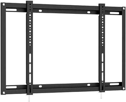 TV para pantalla plana, soporte de pared para televisor LCD y LED de pared para televisores y monitores de hasta 50 kg y Max. VESA 600 x 400 – negro: Amazon.es: Electrónica