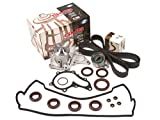 Evergreen TBK235VC Toyota Corolla Celica 1.8L 7AFE Timing Belt Kit Valve Cover Gasket GMB Water Pump