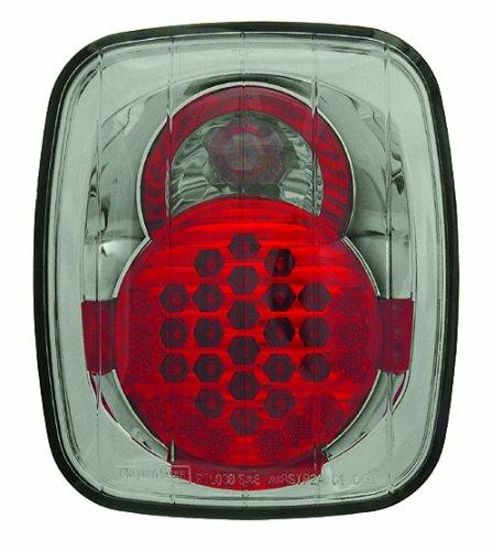 IPCW LEDT-407CS Platinum Smoke LED Tail Lamp - Pair ()