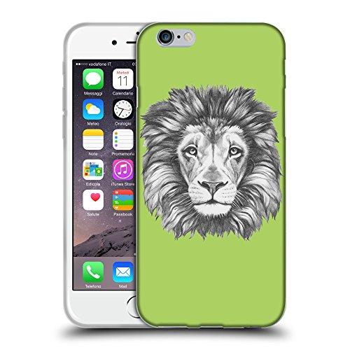 "GoGoMobile Coque de Protection TPU Silicone Case pour // Q05160628 Dessin lion Inchworm // Apple iPhone 6 PLUS 5.5"""
