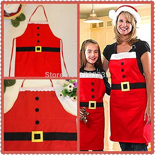 Kitchen Apron - Creative Santa Apron 50pcs Dhl Fedex Sj734 - Potter Chef Blue Mom Mit Green Dress Grandma And ()