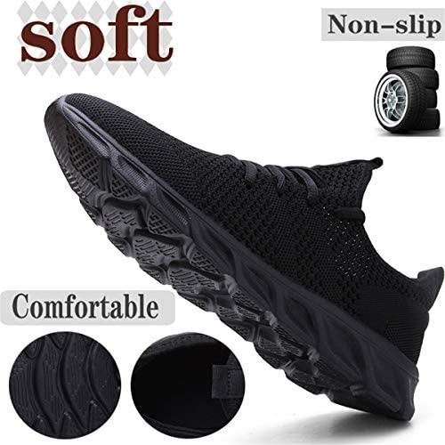 Damyuan Mens Lightweight Athletic Running Walking Gym Shoes Casual Sports Shoes Fashion Sneakers Walking Shoes