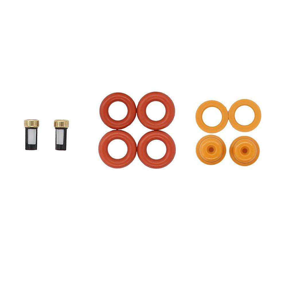 DOEU Kit de reparaci/ón de inyector de combustible o anillos OEM # 0280150943 0280150909 0280150556