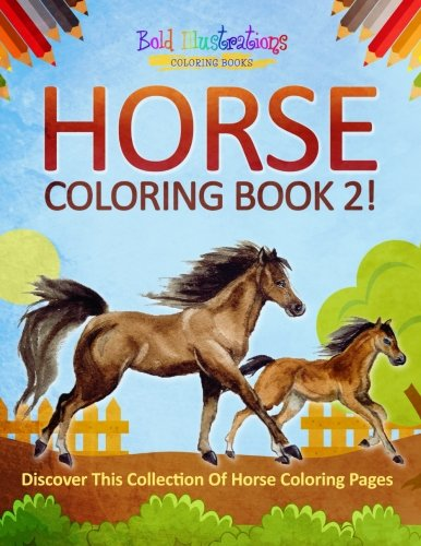 Download Horse Coloring Book 2! Discover This Collection Of Horse Coloring Pages pdf