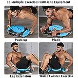 KFK Push up Board Plank Exerciser Exercise Waist Twisting Home Exercise