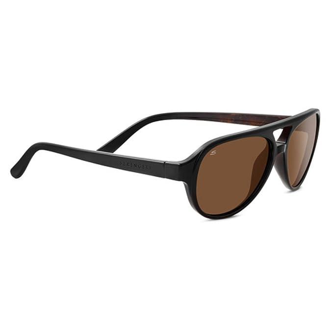 Amazon.com: anteojos de sol SERENGETI Giorgio, negro: Sports ...