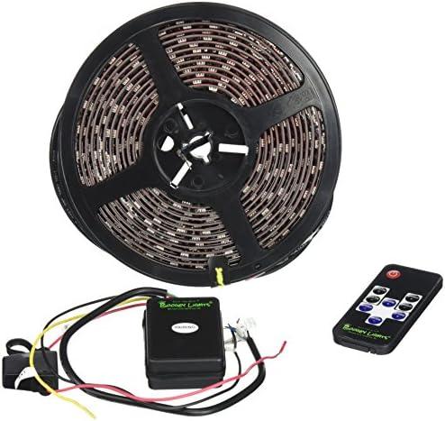 Boogey Lights KRV-VS-MC-BK M7 Hi-Intensity Awning Light for RVs, Motor Homes, Campers and Trailers