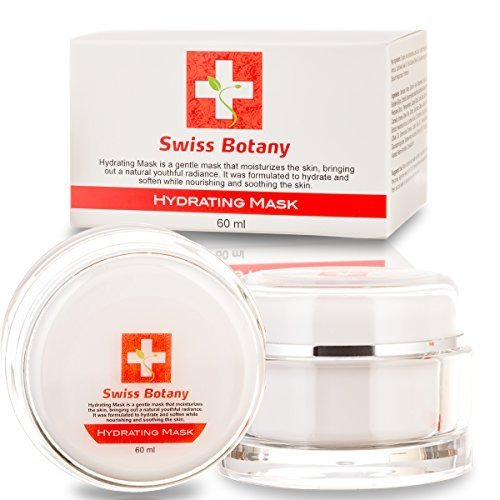 Swiss Botany NATURAL HYDRATING MASK Deeply Hydrates And Nourishes Your Skin Diminishing Wrinkles For A Healthy Glowing Complexion Review