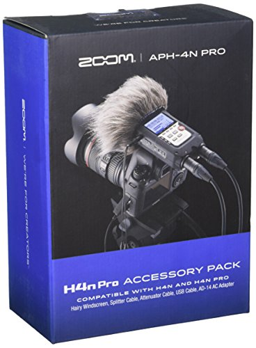 Zoom APH-4nPro Accessory Pack for H4n Pro (Zoom H4n Recorder)