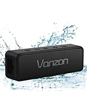 Bluetooth Speaker IPX7 Waterproof Portable Wireless Speaker V5.0 with 20W Loud Stereo Sound, TWS, Vanzon X5 Pro