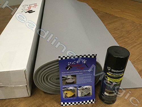 lt-gray-auto-headliner-fabric-material-108-w-1-can-high-temp-adhesive-for-dodge-dakota-quad-cab