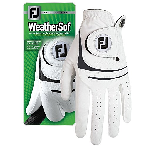 NEW FootJoy WeatherSof Men's Golf Glove (for the left hand) (Cadet Medium Large)