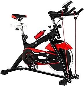 Bicicleta spinning 21 con volante de inercia de 21 kilos: Amazon.es: Deportes y aire libre