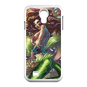 SamSung Galaxy S4 I9500 Little mermaid Phone Back Case DIY Art Print Design Hard Shell Protection MN065580