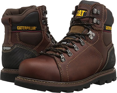 Caterpillar Men's Alaska 2.0 Steel Toe Industrial and Construction Shoe, Brown, 9.5 M US -