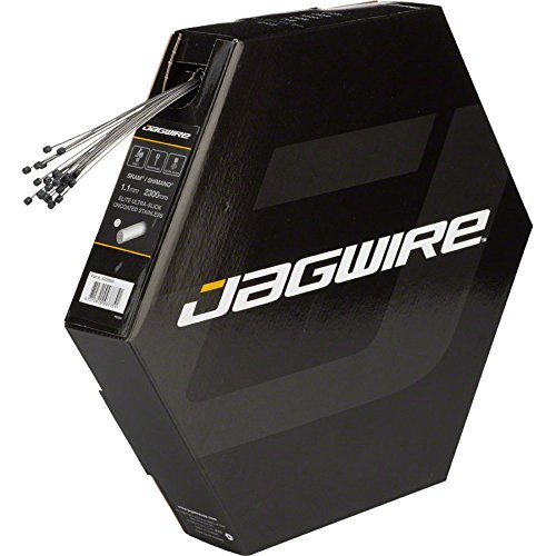 Jagwire Elite Stainless Polished Derailleur Cable Box/25, 1.1x2300mm