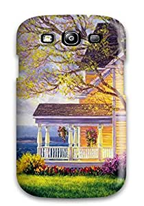 Galaxy S3 Hard Back With Bumper Silicone Gel Tpu Case Cover House