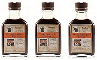 product image for Bourbon Barrel Aged Worcestershire Sauce 100ml (3 Pack)